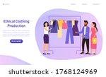socially responsible young... | Shutterstock .eps vector #1768124969