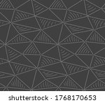seamless vintage graphic web... | Shutterstock .eps vector #1768170653