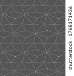 seamless modern vector rhombus... | Shutterstock .eps vector #1768171436