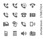 simple set of phones related...