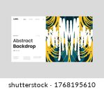 abstract homepage illustration. ... | Shutterstock .eps vector #1768195610