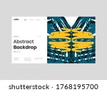 abstract homepage illustration. ... | Shutterstock .eps vector #1768195700