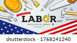 happy celebrating labor day... | Shutterstock .eps vector #1768241240