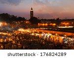 marrakesh sunset  morocco