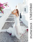 Wedding On Santorini Island In...