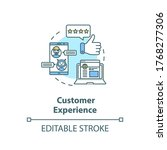 Customer Experience Concept...