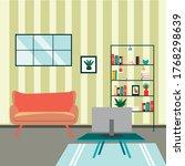 illustration vector of interior ...   Shutterstock .eps vector #1768298639