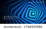 Psychedelic Background. Optical ...