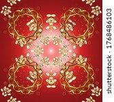 classic vintage background.... | Shutterstock .eps vector #1768486103