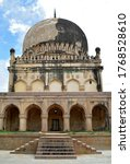 The Qutb Shahi Tombs are located in the Ibrahim Bagh, close to the famous Golconda Fort in Hyderabad, India. They contain the tombs and mosques built by the various kings of the Qutb Shahi dynasty.