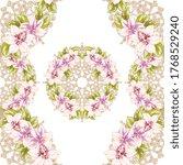 flower print. elegance seamless ... | Shutterstock . vector #1768529240