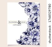 romantic wedding invitation... | Shutterstock .eps vector #1768529780
