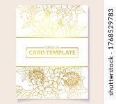 romantic wedding invitation... | Shutterstock .eps vector #1768529783
