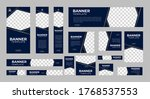 set of creative web banners of... | Shutterstock .eps vector #1768537553