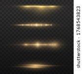 white glowing light explodes on ... | Shutterstock .eps vector #1768543823