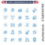 Usa Independence Day Blue Set...