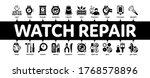 watch repair service minimal...   Shutterstock .eps vector #1768578896