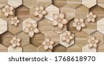 3d Wallpaper Background  Wooden ...