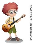 illustration of a young...   Shutterstock .eps vector #176861933