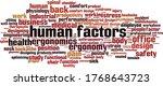 human factors word cloud...   Shutterstock .eps vector #1768643723