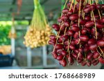 date palm fruit  fresh fruit... | Shutterstock . vector #1768668989
