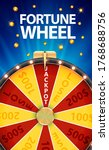 wheel of fortune  lucky icon...   Shutterstock . vector #1768688756