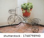 Decorative Wrought Iron Flower...