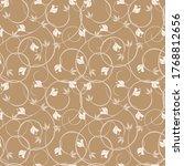 Vintage Floral Seamless Pattern....