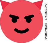 devil   evil emoji   emoticon   Shutterstock .eps vector #1768832699