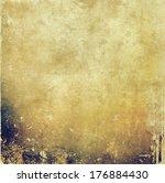 grunge background  | Shutterstock . vector #176884430