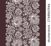 vector lace tropical seamless... | Shutterstock .eps vector #1768865966