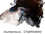 luxurious ink bouquet nature.... | Shutterstock . vector #1768904840
