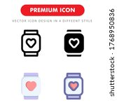 smart watch icon pack isolated...