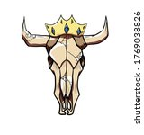 vector illustration of a bull... | Shutterstock .eps vector #1769038826