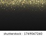 yellow dust. bokeh effect....   Shutterstock .eps vector #1769067260