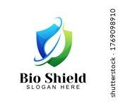bio shield logo  herbal healthy ...   Shutterstock .eps vector #1769098910