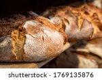Sourdough Bread Close Up....