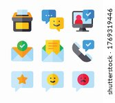 icon set feedback and...