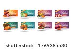 only today  autumn sale  up to... | Shutterstock .eps vector #1769385530
