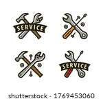 service logo or icon. tools ... | Shutterstock .eps vector #1769453060