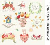 set for congratulations | Shutterstock .eps vector #176947874