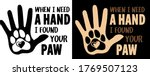 when i need a hand  i found...   Shutterstock .eps vector #1769507123