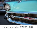 us classic car | Shutterstock . vector #176951234