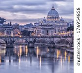 Image Of Rome From The River...