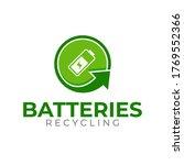 Batteries Recycling Logo...