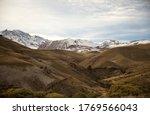 Mountain Range. View Of A...