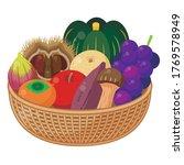 illustration of a platter of...   Shutterstock .eps vector #1769578949