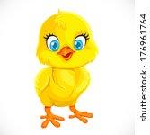 Cute Yellow Cartoon Baby...