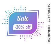 20 percent off sale discount on ...