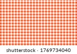 red and white checkered table... | Shutterstock .eps vector #1769734040